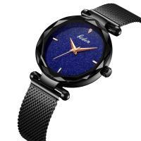 BIDEN® Uhrenkollektion, Edelstahl, mit Glas & Zinklegierung, plattiert, Sternendesign & für Frau, keine, 33.5mm, Länge:ca. 8.8 ZollInch, verkauft von PC