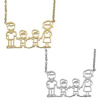 Edelstahl Schmuck Halskette, mit Verlängerungskettchen von 2lnch, plattiert, Oval-Kette & für Frau, keine, 33x19mm, 1.5mm, verkauft per ca. 16 ZollInch Strang