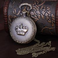 Kupferlegierung Halskette Uhr, unisex, 46mmuff0c16mm, verkauft per ca. 1.2 ZollInch Strang