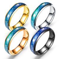 Edelstahl Fingerring, plattiert, verschiedene Größen vorhanden & Epoxy Aufkleber & für paar, keine, verkauft von PC