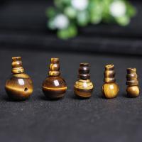 Tigerauge Perle, poliert, verschiedene Größen vorhanden, Bohrung:ca. 1mm, 2PCs/setzen, verkauft von setzen