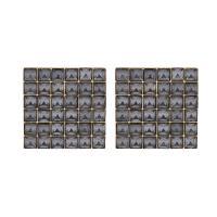 Kunststoff Ohrstecker, mit Kristall, für Frau, keine, 32x32mm, verkauft von Paar