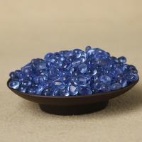 Lampwork Cabochon, verschiedene Größen vorhanden, blau, verkauft von kg