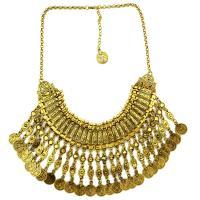 Mode Statement Halskette, Zinklegierung, mit Verlängerungskettchen von 4inch, plattiert, mehrschichtig & für Frau, frei von Nickel, Blei & Kadmium, verkauft per ca. 21 ZollInch Strang