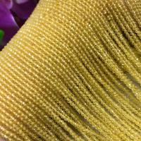 Natürlicher Citrin Perlen, Gelbquarz Perlen, poliert, DIY & verschiedene Größen vorhanden, gelb, verkauft per ca. 16 ZollInch Strang