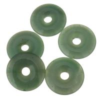 Achat Zwischenperlen, verschiedene Größen vorhanden, grün, 36x8mm, Bohrung:ca. 8mm, verkauft von PC