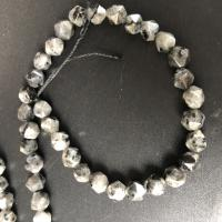 Labradorit Perlen, poliert, DIY & facettierte, weiß, 8MM, ca. 47PCs/Strang, verkauft per ca. 15 ZollInch Strang