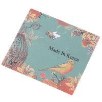 Papier Quadrat, mit Blumenmuster, farbenfroh, 49*43mm, verkauft von setzen
