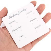 Papier mit Brief Muster, weiß, 80*80mm, verkauft von setzen