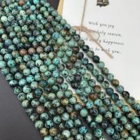 Türkis Perlen, Natürliche Türkis, rund, verschiedene Größen vorhanden, grün, 4mm,6mm,10mm, verkauft von Strang