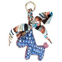 Hängende Ornamente, PU Leder, Pferd, handgemacht, für Frau & mit Strass, keine, 220mm, verkauft von PC