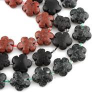 Regen Blumen Stein Perlen, verschiedene Größen vorhanden, keine, 15*14*6mm, verkauft von Strang