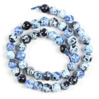 Achat Perlen, Naturstein, verschiedene Größen vorhanden, keine, verkauft von Strang