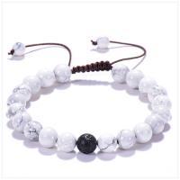 Edelstein Woven Ball Armbänder, unisex & einstellbar & verschiedene Stile für Wahl, 8mm, Länge:7.5-9.5 ZollInch, verkauft von PC