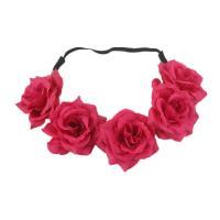 Stirnband, Polyester, Blume, für Frau, keine, 65mm,500mm, verkauft von PC