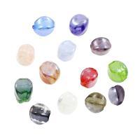 Innerer Twist Lampwork Perlen, innen Twist, 12x17mm, Bohrung:ca. 2mm, ca. 100PCs/Tasche, verkauft von Tasche