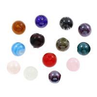 Innerer Twist Lampwork Perlen, rund, innen Twist, 14x14mm, Bohrung:ca. 1mm, ca. 100PCs/Tasche, verkauft von Tasche