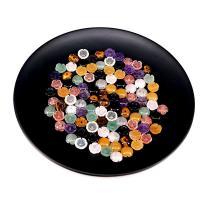 Edelstein Haar-Stock -Entdeckungen, Blume, poliert, verschiedenen Materialien für die Wahl, 10mm, verkauft von PC