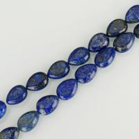 Lapislazuli Perlen, Tropfen, blau, 13x18mm, Bohrung:ca. 1.5mm, ca. 23PCs/Strang, verkauft per ca. 16 ZollInch Strang