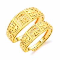 Messing Open -Finger-Ring, verschiedene Stile für Wahl, goldfarben, frei von Nickel, Blei & Kadmium, 8mm,6mm, verkauft von PC