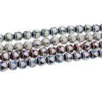 Runde Kristallperlen, Kristall, Kunstdruck, verschiedene Größen vorhanden, mehrere Farben vorhanden, verkauft per ca. 11.02 ZollInch, ca. 11.61 ZollInch Strang