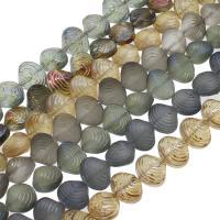 Kristall-Perlen, Kristall, Schale, bunte Farbe plattiert, verschiedene Größen vorhanden, mehrere Farben vorhanden, Bohrung:ca. 1mm, verkauft per ca. 23.62-29.92 ZollInch Strang