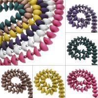 ABS-Kunststoff-Perlen, ABS Kunststoff, keine, 27x42x18mm, Bohrung:ca. 2mm, ca. 5StrangStrang/Tasche, ca. 47PCs/Strang, verkauft von Tasche