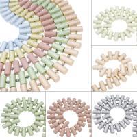 ABS-Kunststoff-Perlen, ABS Kunststoff, Zylinder, keine, 41x7mm, Bohrung:ca. 2mm, ca. 5StrangStrang/Tasche, verkauft von Tasche