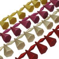 ABS-Kunststoff-Perlen, ABS Kunststoff, keine, 17x27x10mm, Bohrung:ca. 1mm, 100PC/Tasche, verkauft von Tasche