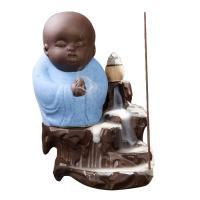 Porcelain Backflow Incense Burner, Lila Sand, handgemacht, keine, 155x95x120mm, verkauft von PC