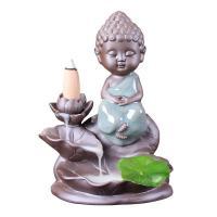 Porcelain Backflow Incense Burner, Porzellan, verschiedene Stile für Wahl, 110mm, verkauft von PC