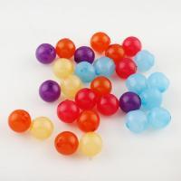 Gemischte Acrylperlen, Acryl, 13x13x15mm, Bohrung:ca. 3mm, 300PC/Tasche, verkauft von Tasche