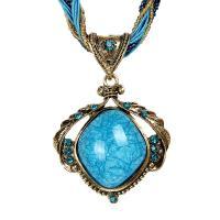 Harz Halskette, Kunststoff, mit Katzenauge & Harz, mit Verlängerungskettchen von 5cm, für Frau & mit Strass, keine, verkauft per ca. 16.5 ZollInch Strang