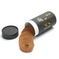 Weihrauch, Sandelholz, rund, Halbhandgefertigt, gelb, 85x160mm, 60BoxenFeld/setzen, 2PCs/Box, verkauft von setzen