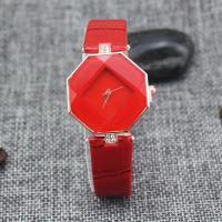 Damen Armbanduhr, PU Leder, mit Glas, plattiert, für Frau, keine, 230x18mm, verkauft von PC