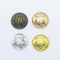 Zinklegierung Schmuck Cabochons, plattiert, keine, frei von Nickel, Blei & Kadmium, 16x16x3.50mm, 100PCs/Tasche, verkauft von Tasche