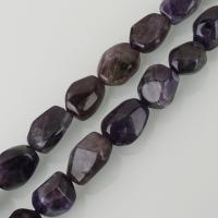 Natürliche Amethyst Perlen, verschiedene Größen vorhanden, violett, frei von Nickel, Blei & Kadmium, Bohrung:ca. 2mm, ca. 21PCs/Strang, verkauft per ca. 15.5 ZollInch Strang