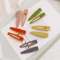 Klick Klack Spange, Zinklegierung, goldfarben plattiert, für Frau & Emaille, keine, frei von Nickel, Blei & Kadmium, 70x18mm, verkauft von PC
