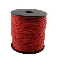 Gewachste Nylonschnur Schnur, mit Kunststoff, rot, 73x70x68mm, Bohrung:ca. 16mm, Länge:9.4 ZollInch, verkauft von Spule