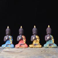 Buddhische Geschenke Dekorationen, Lila Sand, Buddha, handgemacht, keine, 50x40x90mm, verkauft von PC