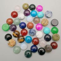 Edelstein Cabochons, poliert, verschiedenen Materialien für die Wahl, 12mm, 10PCs/Tasche, verkauft von Tasche