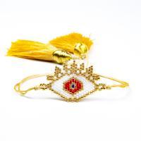 Seedbead Armband, mit Nylon Polypropylen, einstellbar & verschiedene Stile für Wahl & für Frau, Länge:ca. 6.3-8 ZollInch, 2SträngeStrang/Menge, verkauft von Menge