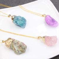 Kristall Halskette, für Frau, mehrere Farben vorhanden, 30-50mm, verkauft von Strang
