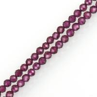 Granat Perle, Trommel, natürlich, rot, 2.50x2.50x2.50mm, Bohrung:ca. 1mm, Länge:ca. 16 ZollInch, 5SträngeStrang/Menge, ca. 161PCs/Strang, verkauft von Menge