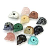 Edelstein- Chips Anhänger, Schädel, DIY, keine, frei von Nickel, Blei & Kadmium, 20x16mm, 5PCs/Menge, verkauft von Menge