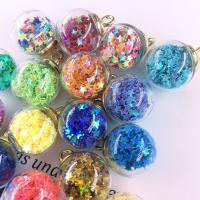Glas Anhänger, rund, DIY, keine, 16x21.5mm, 30PCs/Tasche, verkauft von Tasche