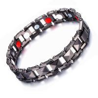 Kupferlegierung Armband, mit Kristall, unisex, keine, 12mm, verkauft von PC