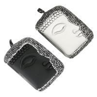 Ton Anhänger, mit Glas & Messing, Charakter, schwärzen, keine, 37x57x14mm, Bohrung:ca. 5x7mm, verkauft von PC