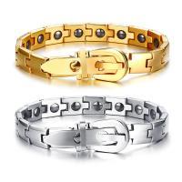 Titanstahl Armband, einstellbar & für den Menschen, keine, 8mm, verkauft per ca. 8 ZollInch Strang