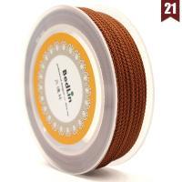 Nylon Nichtelastisches Garn, rund, DIY, keine, frei von Nickel, Blei & Kadmium, 2mm, 10m/Spule, verkauft von Spule